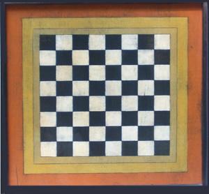 Fall Checker Board
