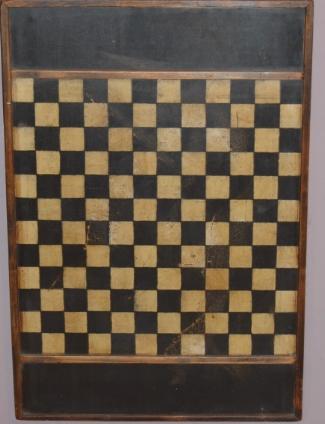 German Checker Board