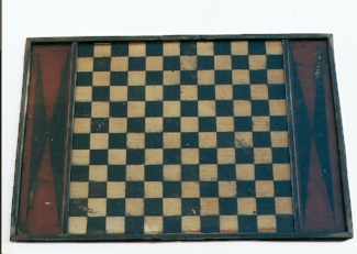 German Checker Board with Red Ends