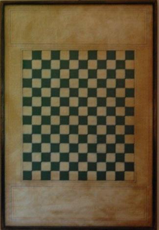Under The Snow Checker Board