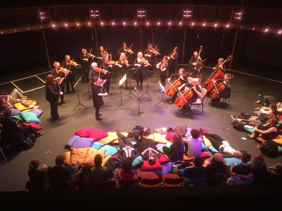 Comfortable Classical - Canada Water TheatreMonday 11 & Wednesday 20 March, 1.30pm - 2.30pm, £3-£5A relaxed lunchtime concert of music inspired by nature and birdsong. You are encouraged to draw, colour or knit while listening to the City of London string section. Suitable for both adults and kids.