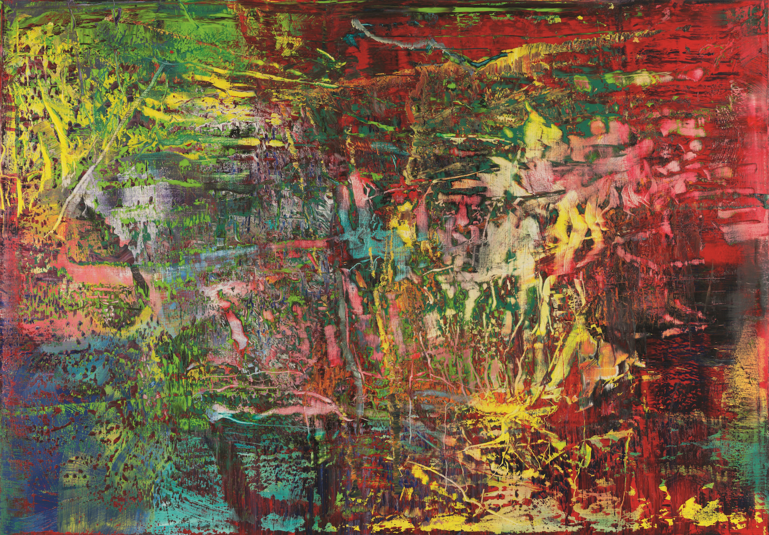 Steve Reich / Gerhard Richter - Wednesday 23 October, 7.30pm & 9.30pm, £21.50-£26.50 (<25s £10)Barbican Hall, Barbican CentreSteve Reich and Gerhard Richter – two giants of contemporary culture – come together in a major new collaboration: a cinematic exploration of Richter's intense, abstract painting 946-3 (pictured). Through a combination of music and digital visuals, algorithmically derived from the art, this event promises an artwork that's more than the sum of its parts. Very excitingly, Steve Reich will be in London for this European premiere! Unsurprisingly, the early showing is sold out so be quick if you want a ticket… 🏃♀️