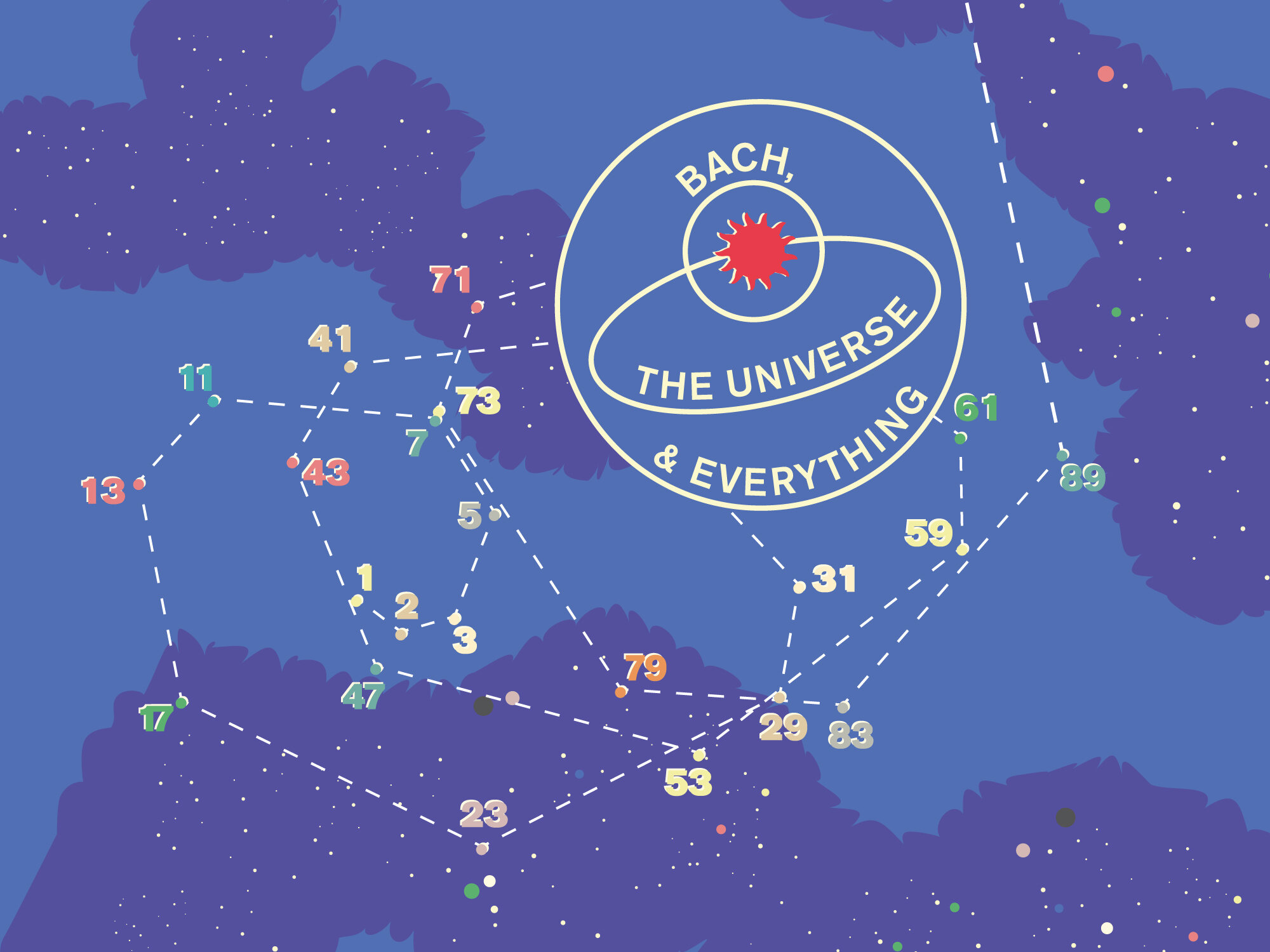 Bach, the Universe and Everything - Saturday 12 October at 7pm, Sunday 13 October at 5.30pm, £15-£35St George's, Bristol & Mathematical Institute, University of OxfordFresh from a successful run in London, the Orchestra of the Age of Enlightenment brings its unique mix of baroque music and science to Bristol and Oxford for the first time. There's going to be talks about astronomy in Bristol and applied mathematics in Oxford, plus sacred vocal music by Bach, and inspirational readings.
