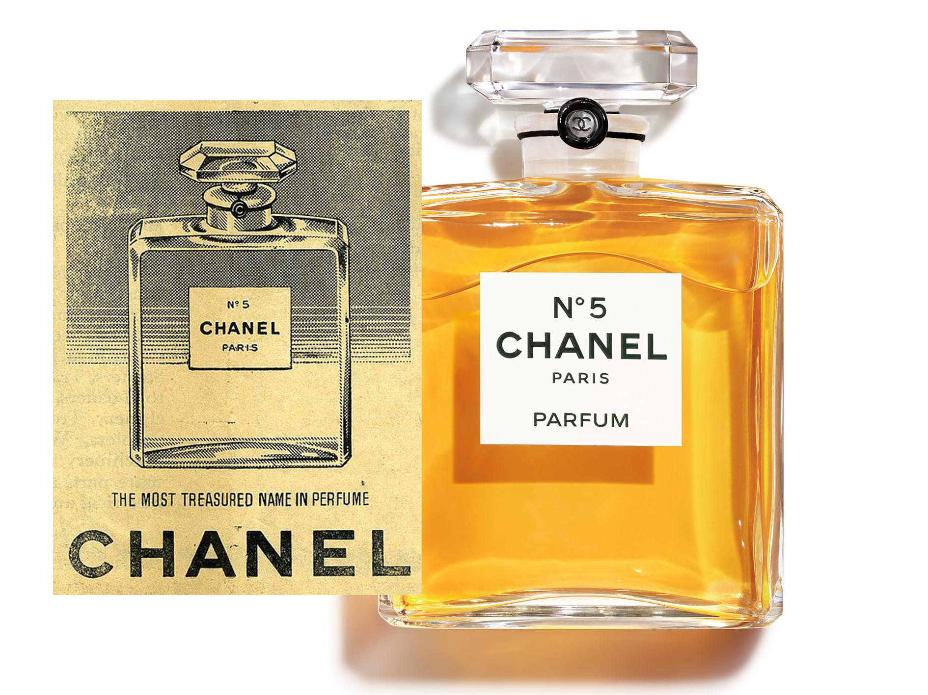The world's most well known eau de parfum.  Images via Chanel.