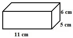 area rectangular prism