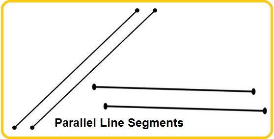 parallel line segments