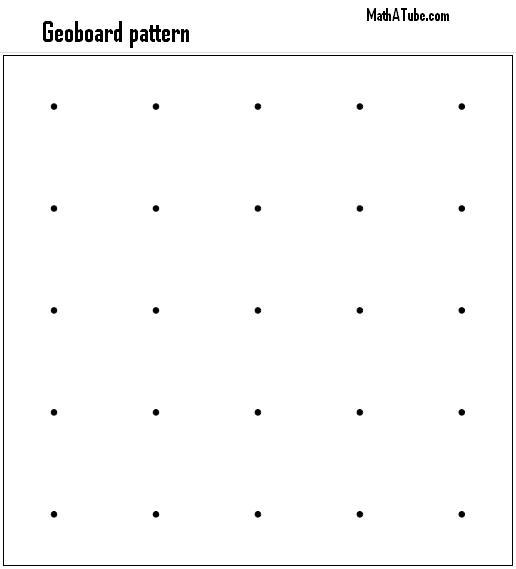 Geoboard pattern