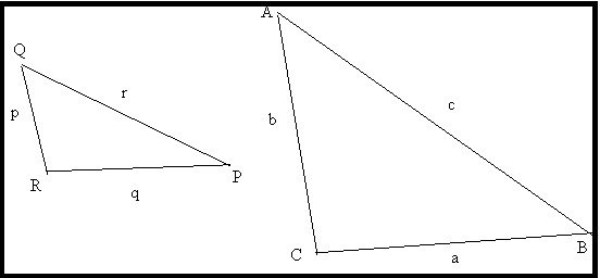 similar figures triangles
