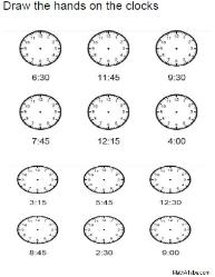 missing hands time clock