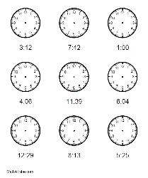 missing hands on clock