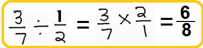 dividing a fraction by a fraction