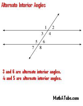 alternate-interior angles
