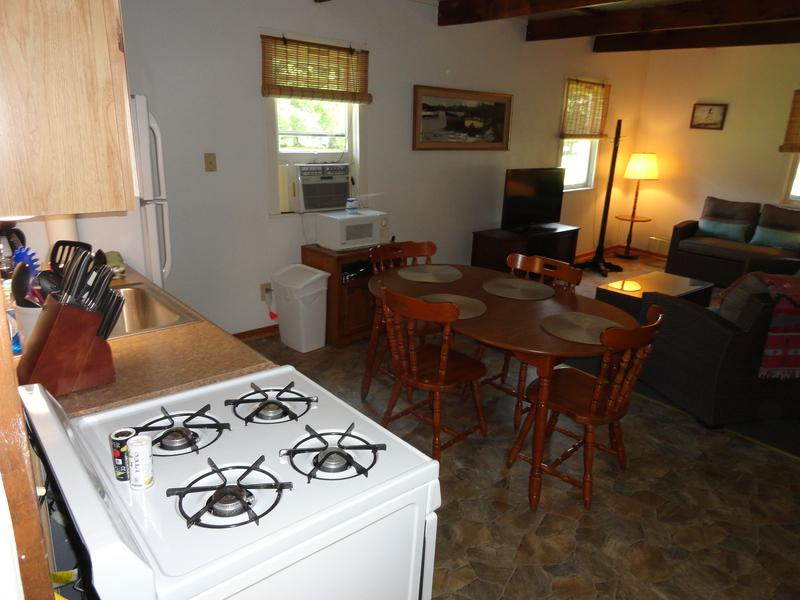 Tan cottage kitchen