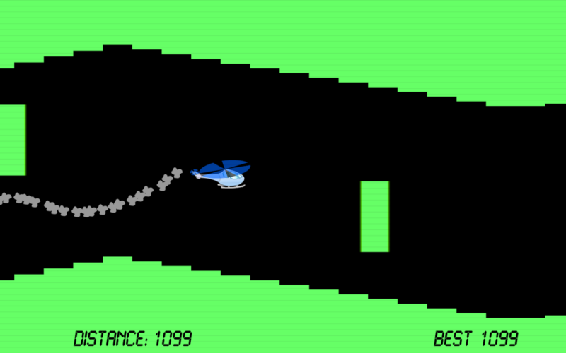 Classic gravity-based helicopter game.