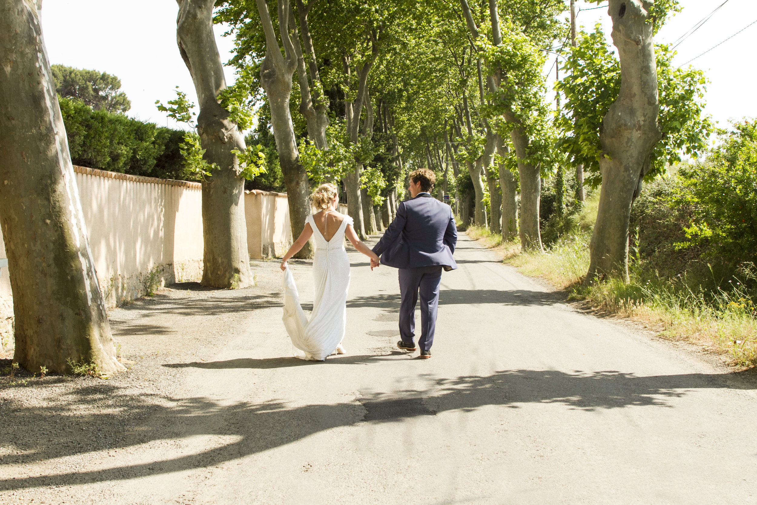 Chris & Kate - Emily came to France to take our wedding pictures and she was more than happy to do so.She was well organised and knew what shots she needed to capture our perfect day from start to finish all the details of dress shoes hair etc and even my husband getting ready too was an added bonus to see the pictures and the happiness she captured in doing so.I'm never one to like having pictures taken but Emily made us feel relaxed and at ease she was quick and thorough so we could move on to enjoying our day with our family and friends.She comes highly recommended and can't wait to now use her for our first child's pictures too.