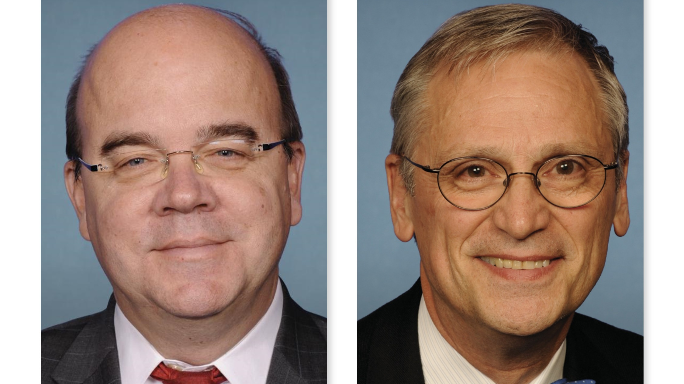 Reps Jim McGovern and Earl Blumenauer