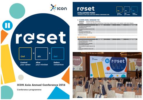 ICOn ASia annual conference 2018 - CONFERENCE THEME DESIGN