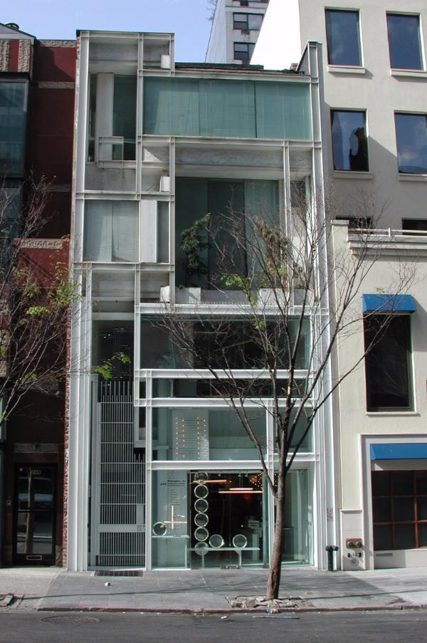 The 58th Street facade in 2006 - Photo: Donald Luckenbill