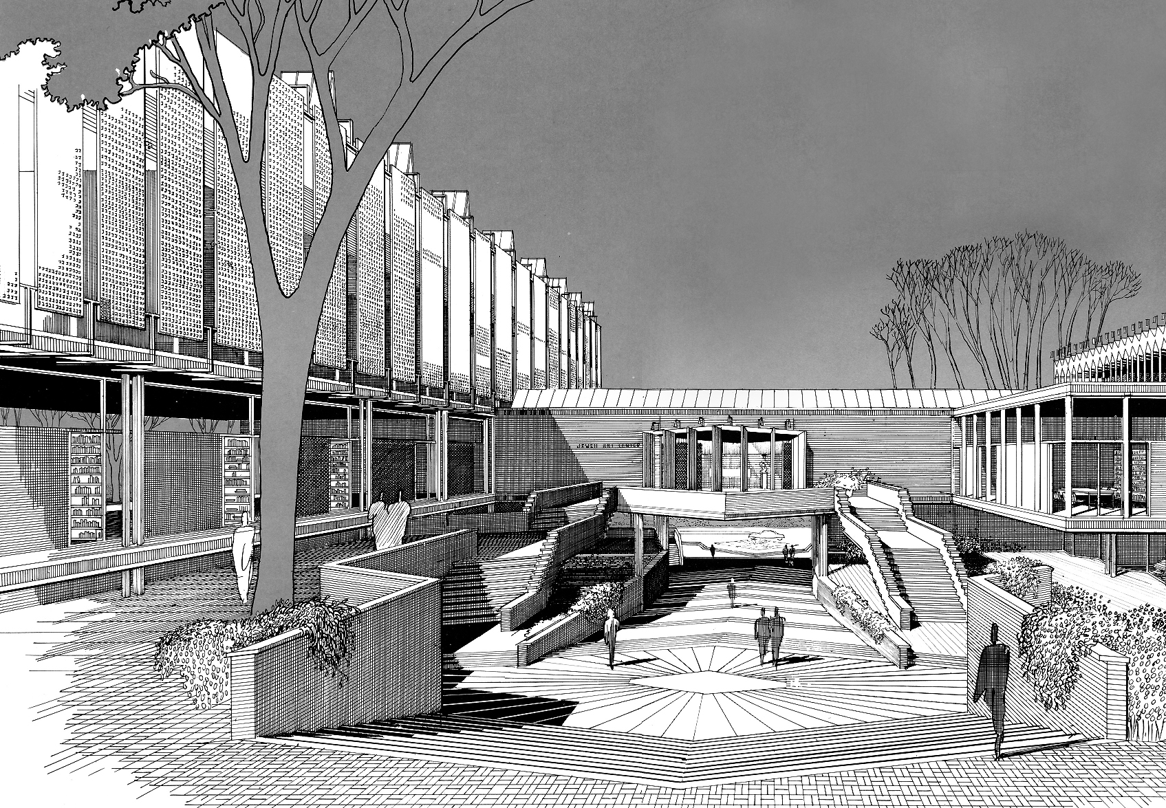 Jewett Arts Center for Wellesley College - 1955