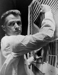 Paul Rudolph in 1960   Photo: Library of Congress