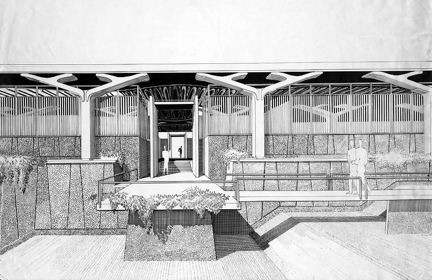 Greeley Memorial Laboratory, 1957