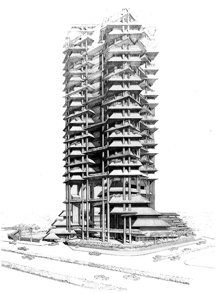 Wisma Dharmala Sakti, 1982-1988