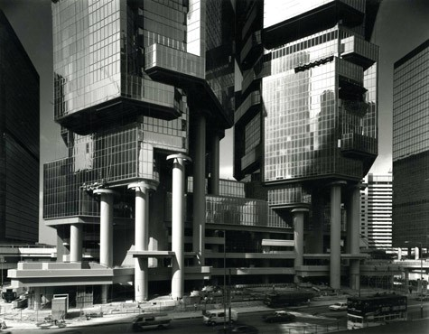 Bond Centre (now Lippo Centre), 1984-1988   Photo: Paul Rudolph Heritage Foundation