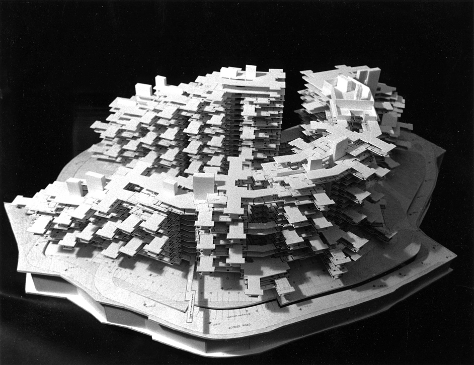 Institution Hill Condominiums project, 1987   Photo: Paul Rudolph Heritage Foundation