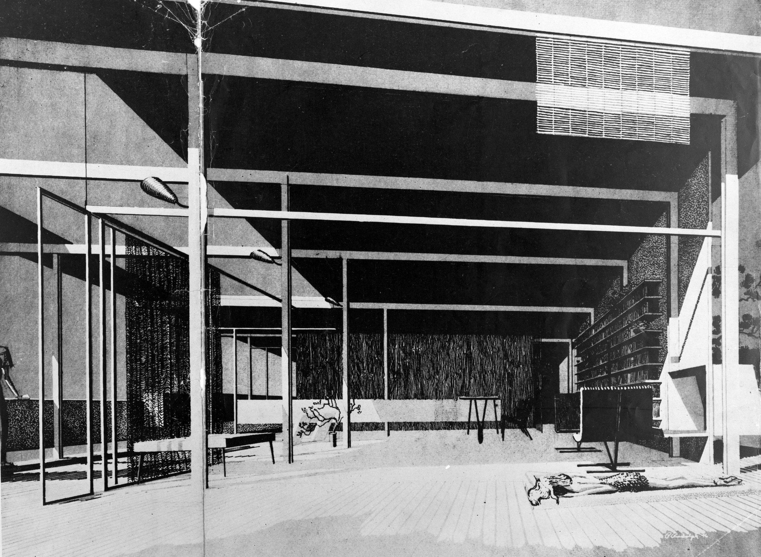 Miller Boat House, 1946