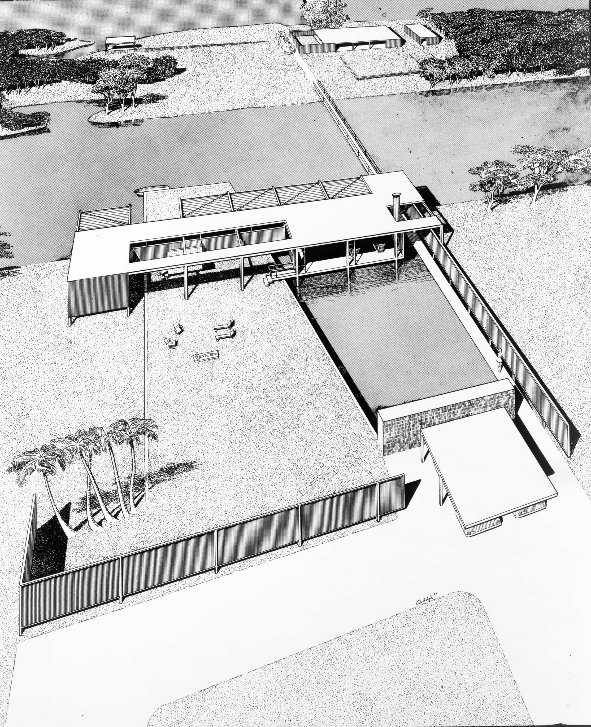 Finney Guest House, 1947
