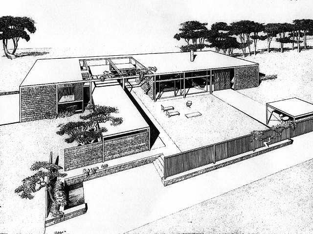 Kerr Residence, 1950