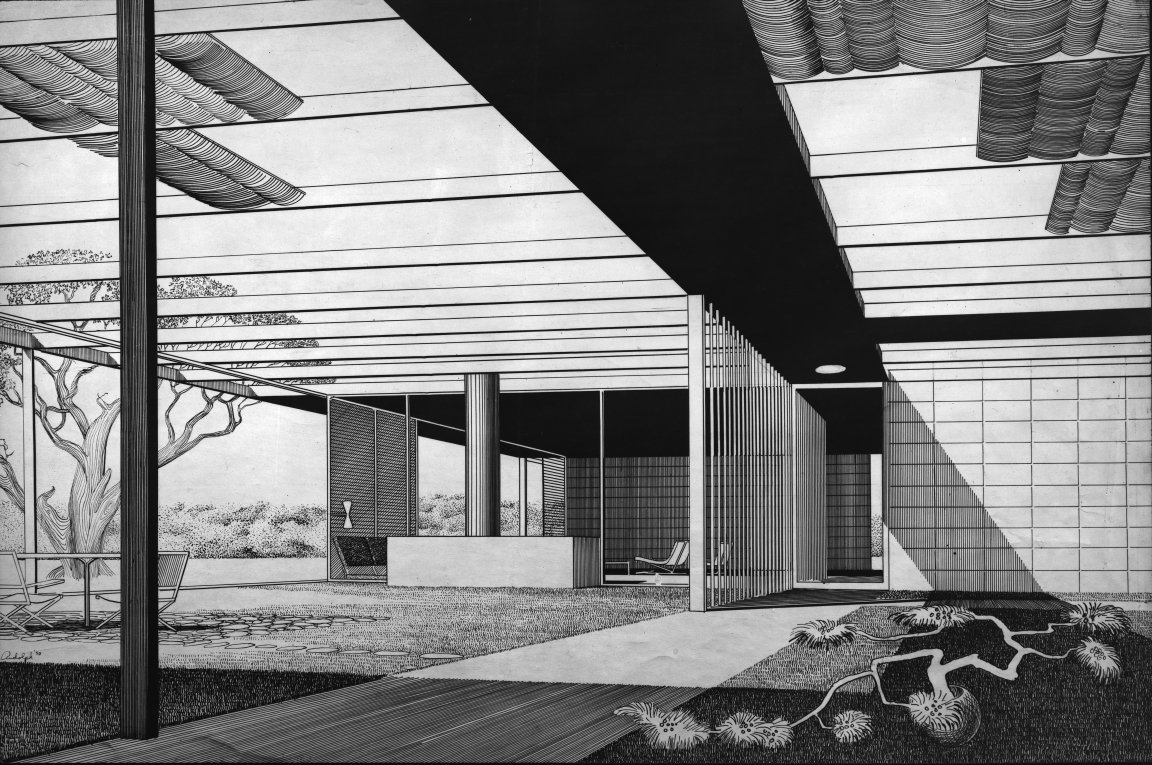 Watson Residence, 1950