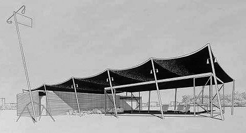 Beach Pavilion, 1950