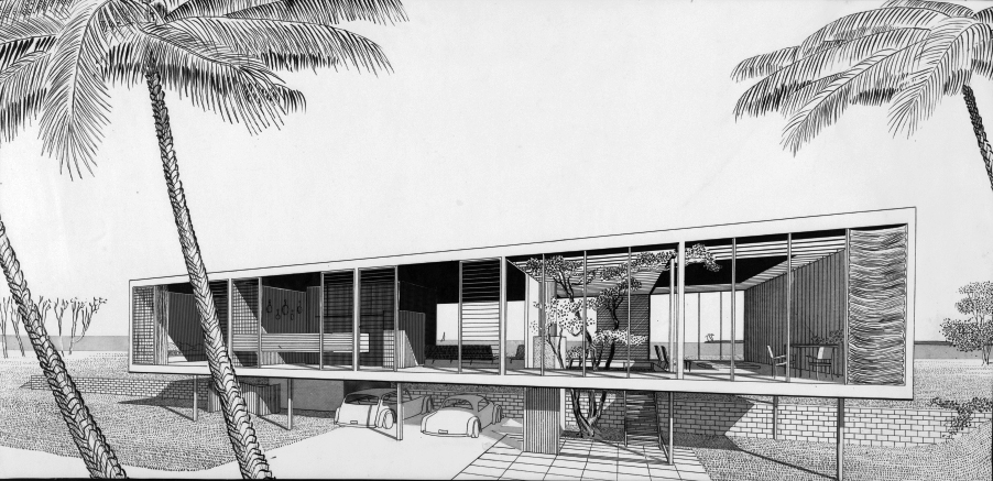 Walker Residence, 1951
