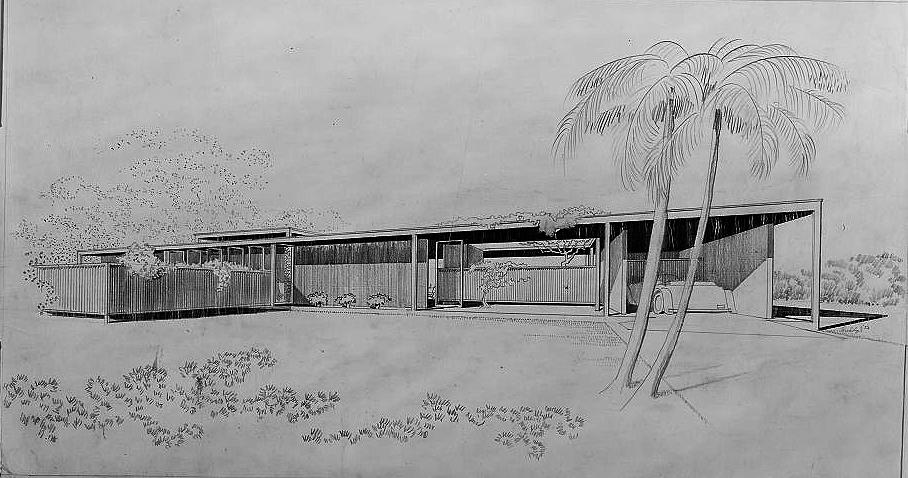 Davis Residence, 1953