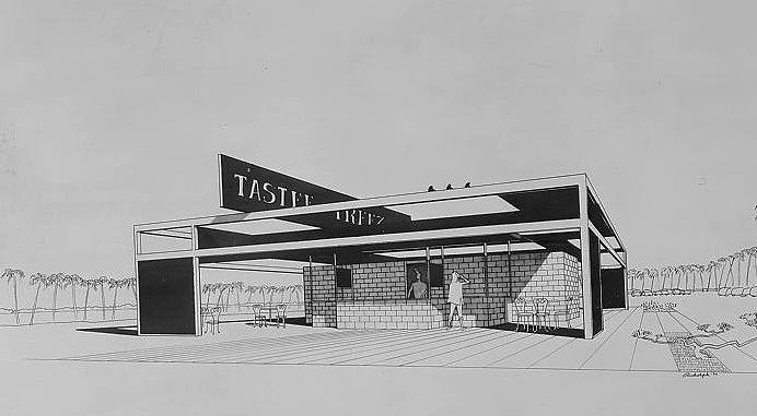 Tastee Freez, 1954