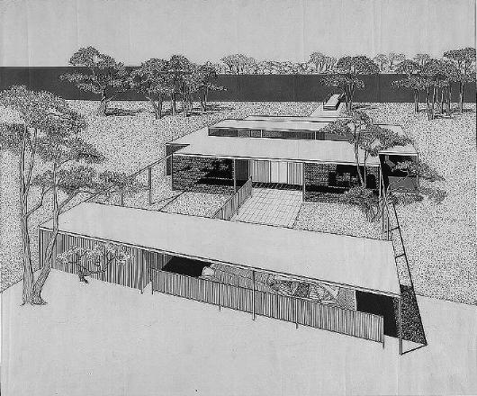 Miller Residence, 1954