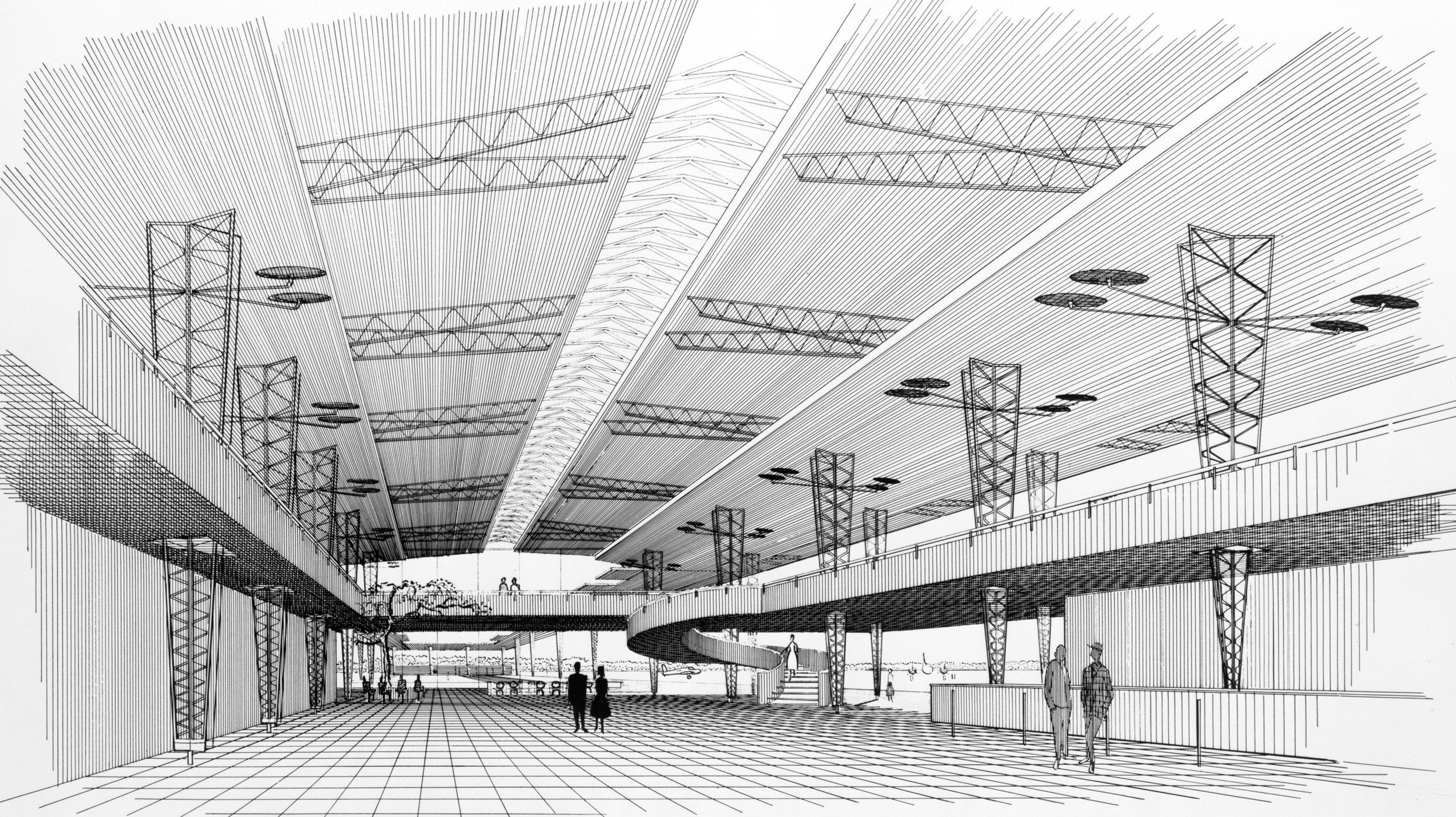 Sarasota Airport, 1955