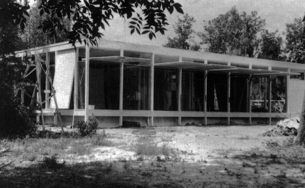 Stinnett Residence, 1955