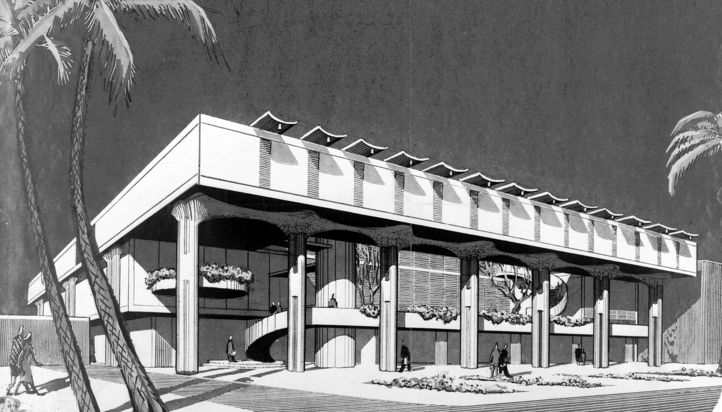 Bramlett Office Building, 1956