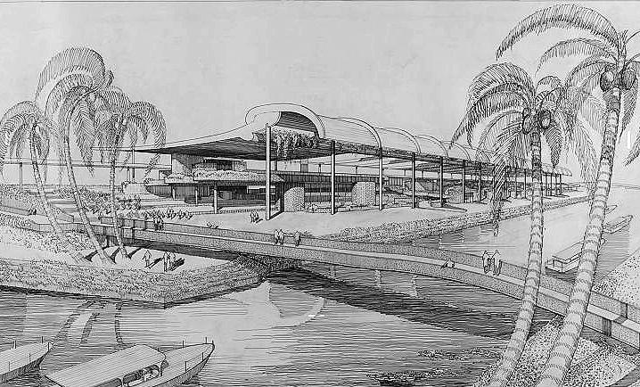 Inter-American Center, 1956