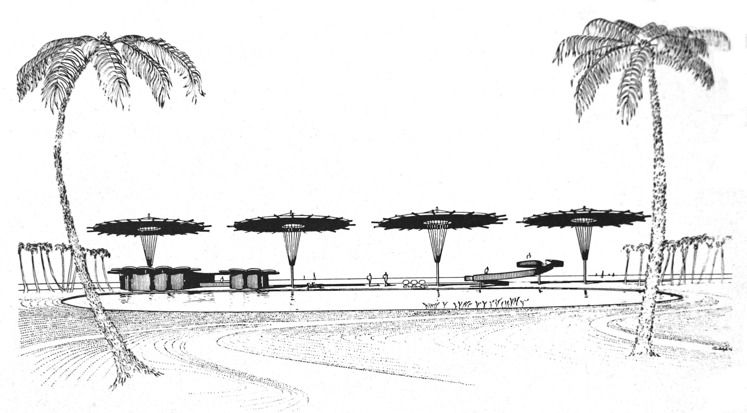 Public Beach Development, 1956