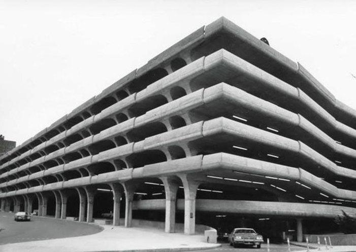 Temple Street Garage, 1959