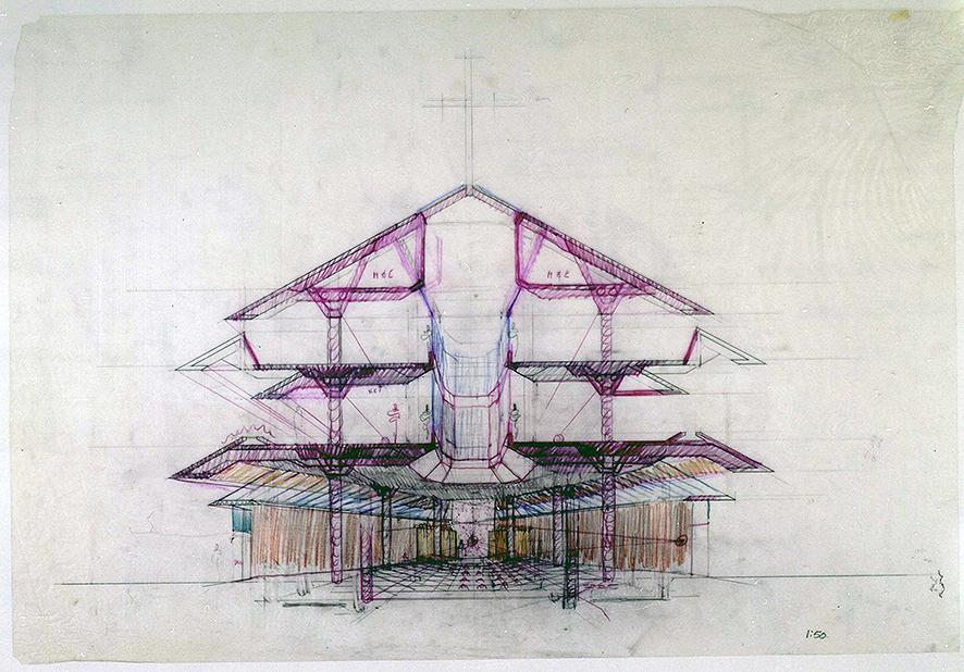 Maris Stella Chapel, 1993