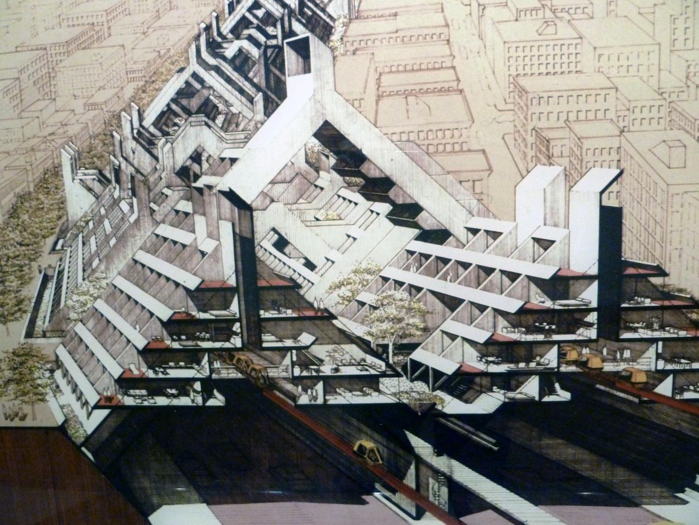 Lower Manhattan Expressway, 1967
