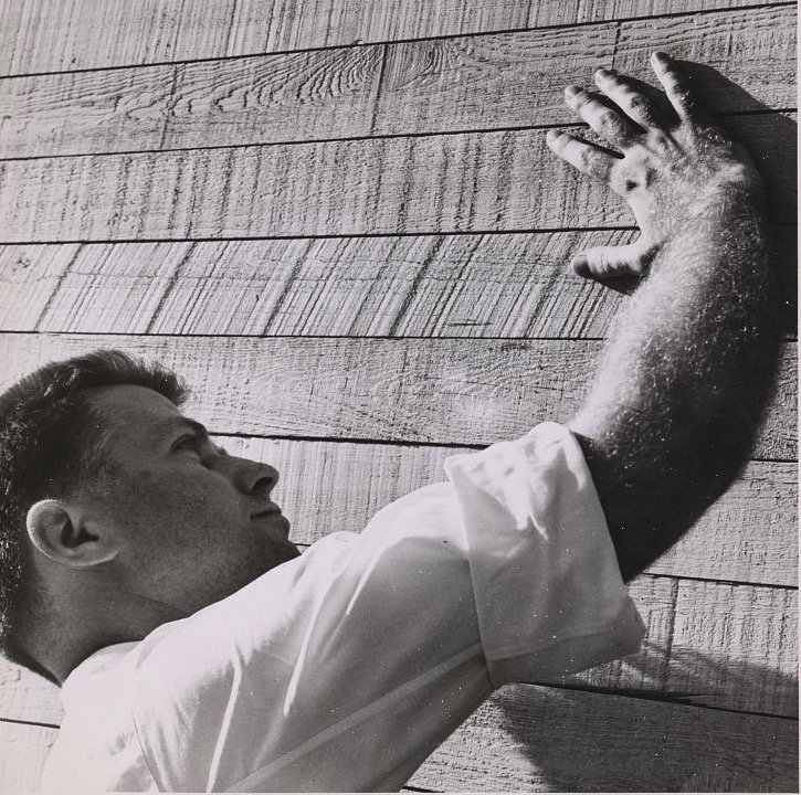 Paul Rudolph asking concrete what it wants to be.  Photo: Library of Congress