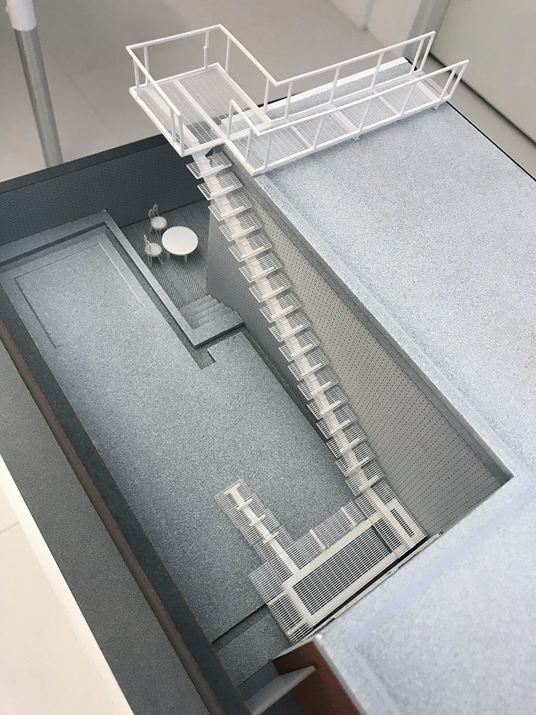 Model of Rudolph's residence. Photo: Paul Rudolph Heritage Foundation Archives