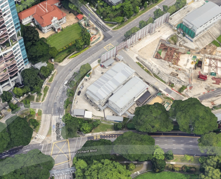 The site today. Image: Google Maps