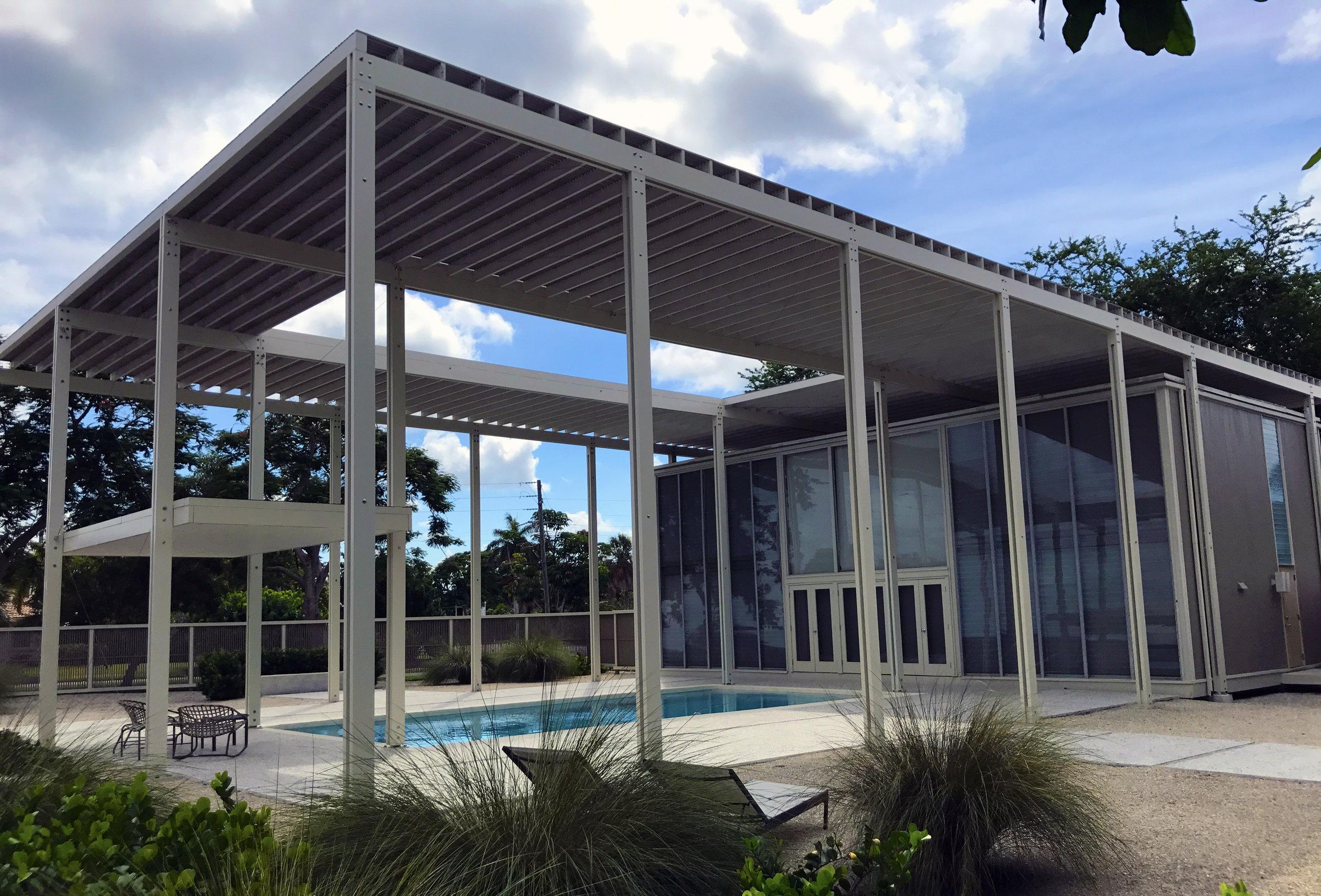 Paul Rudolph's Umbrella residence in 2018. Photo: Kelvin Dickinson, Paul Rudolph Heritage Foundation Archives
