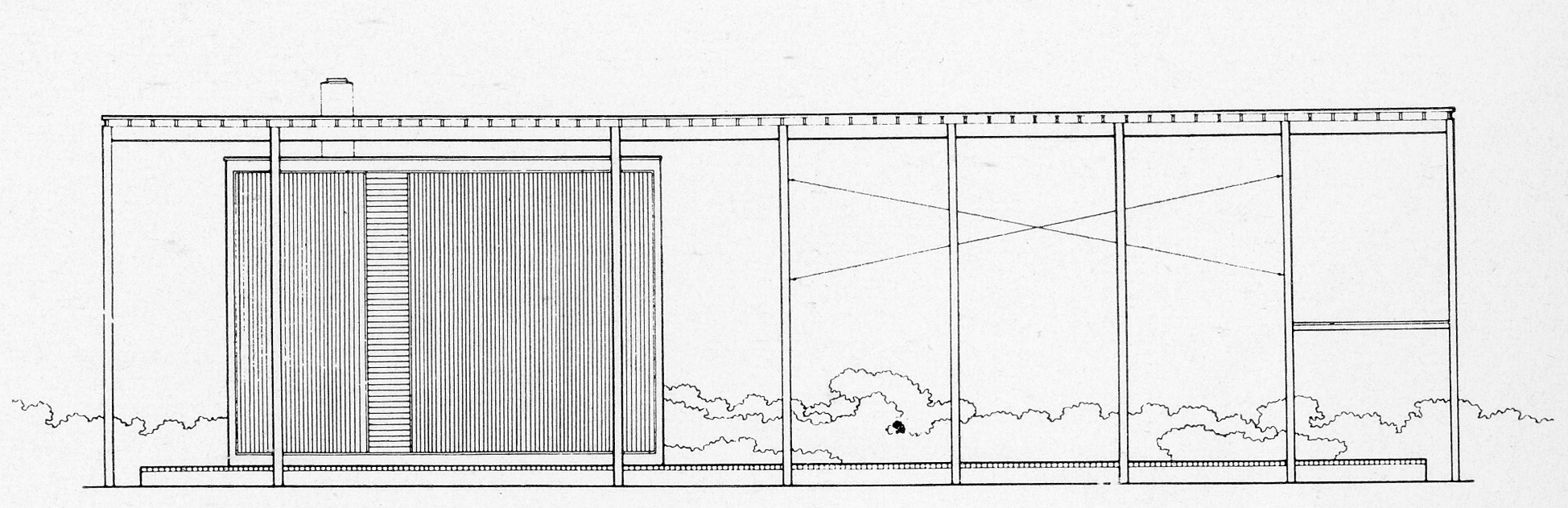 Side Elevation. Image: Paul Rudolph Heritage Foundation Archives